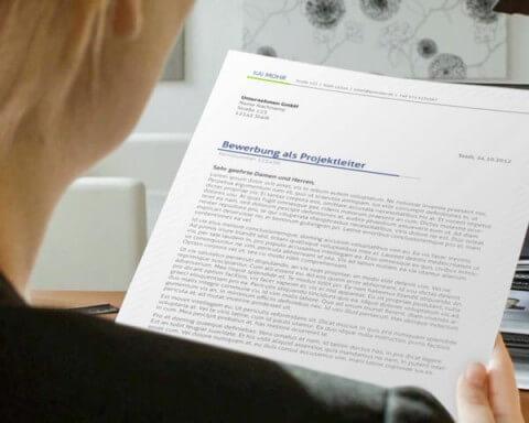 Bewerbungsschreiben professionell und individuell