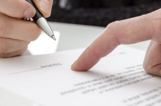 Unterschrift Bewerbung