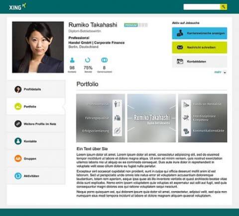 XING Portfolio - Die Bewerbungsschreiber
