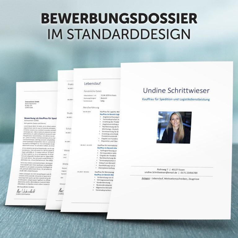 Unser Bewerbungsdossier im Standard-Design