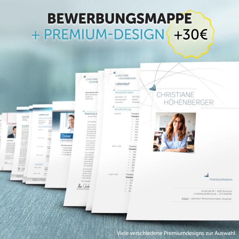 Unsere Bewerbungsmappe im Premium-Design