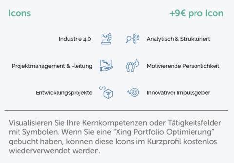 Kurzprofil Icons